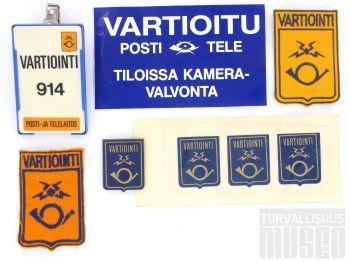 Posti-vartiointimerkkejä